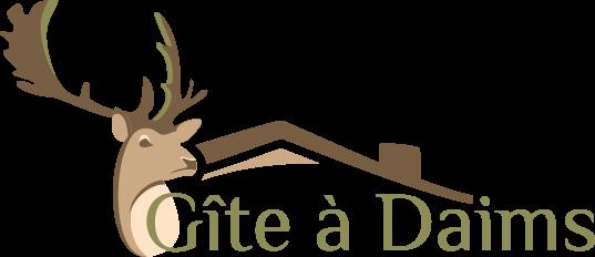 Logo du Gîte à Daims